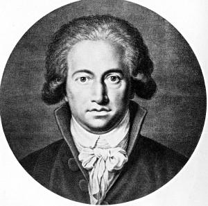 Goethe, 1791