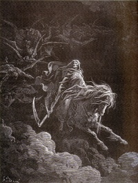 G. Doré - Morte sul cavallo pallido, 1865