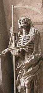 Cattedrale di Trier, Morte con falce