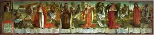 Frammento di danze macabre nella Chiesa di San Nicolò, Tallin
