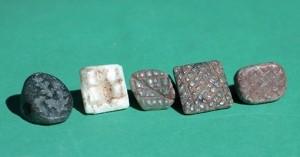 AnatolianNeolithicSteatite5Seals