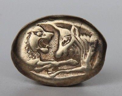 Statere di Lydia periodo di Creso, 560-546 A.C., elettro